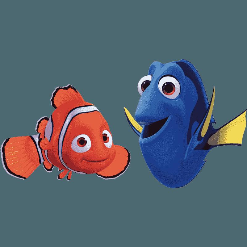 Nemo clip art transprent. Dory clipart marlin