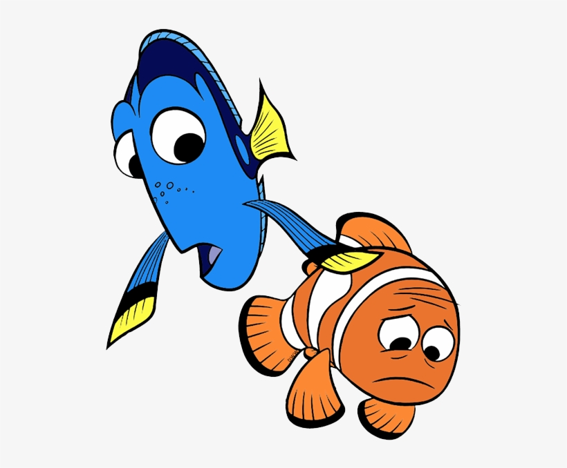 Finding clip art character. Dory clipart marlin