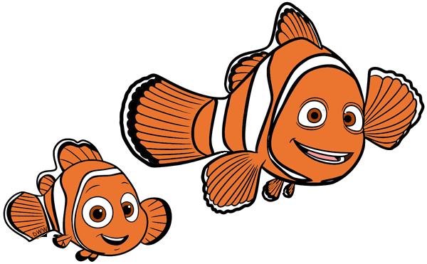 Finding dory clip art. Nemo clipart father