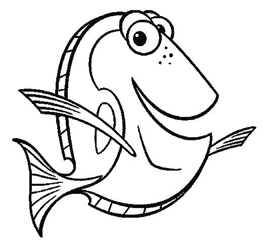 Dory clipart outline. Collection of free download