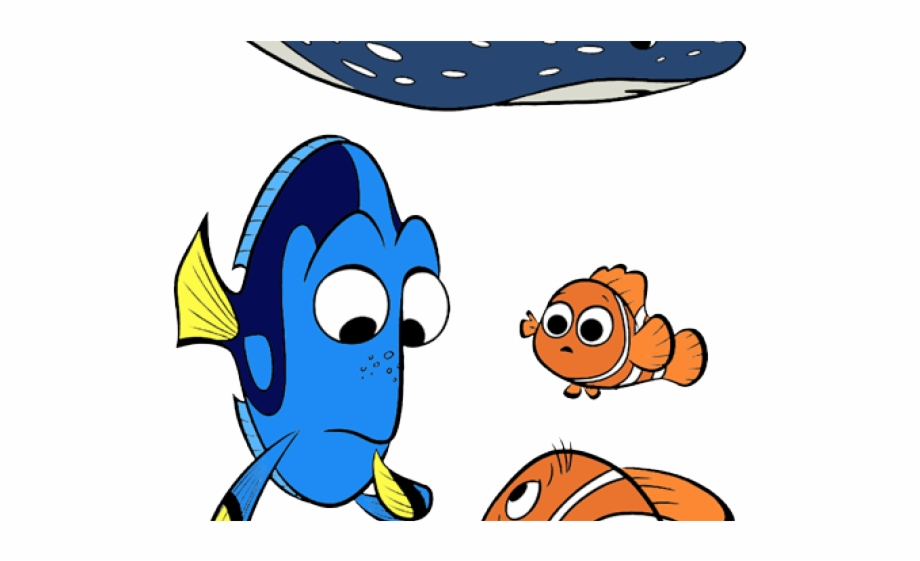 Finding nemo mr ray. Dory clipart stingray
