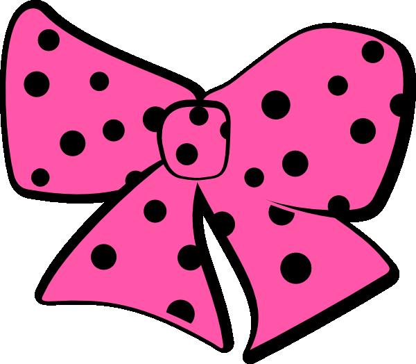 Dot clipart black hair bow. Random clip art at