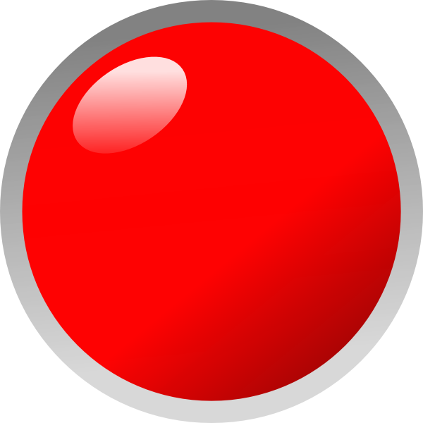 Dots circle transparent free. Dot clipart blinking red