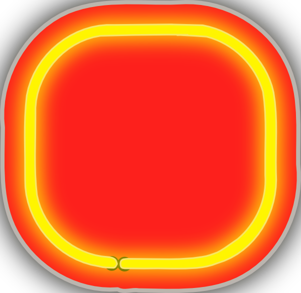 Neon background clip art. Dot clipart blinking red