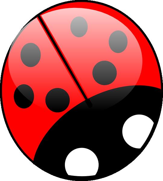 Dot clipart bright colored. Ladybug colors clip art