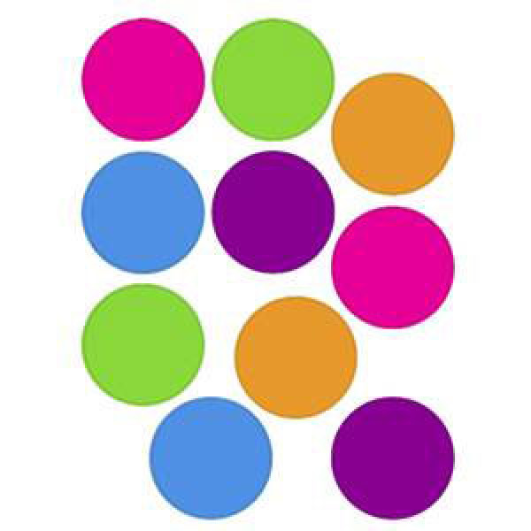 Dot clipart bright colored. Free dots download clip