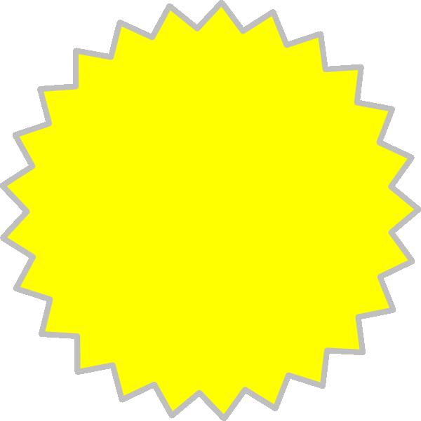 Yellow burst clip art. Dot clipart bursts
