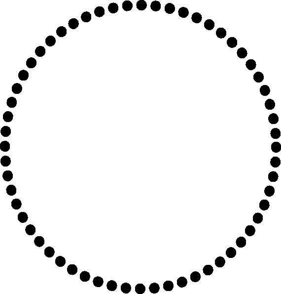 Black dots clip art. Dot clipart circle