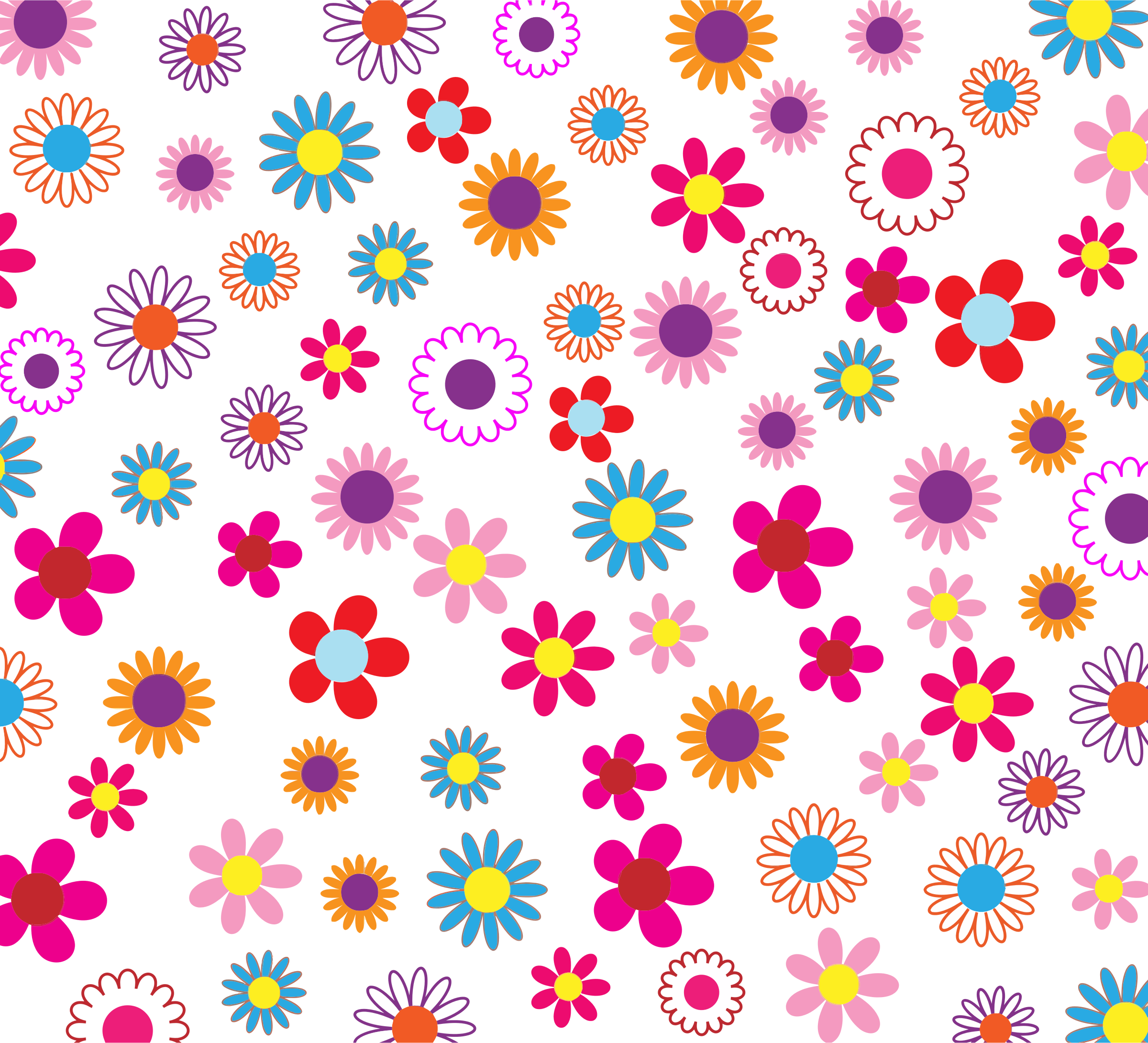 Colorful pattern background by. Youtube clipart floral
