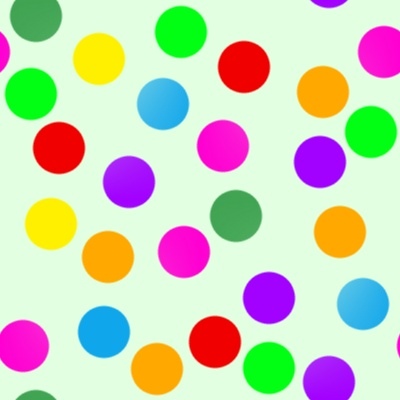 Dot clipart colour full. Oneaxnet colourful dots wallpaper