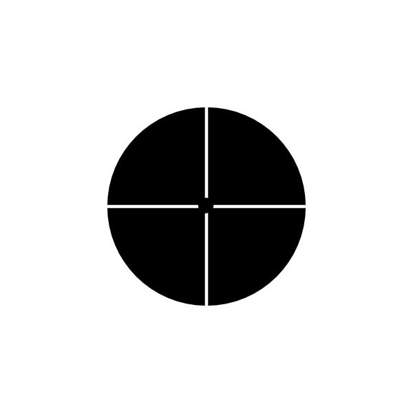 Dot clipart crosshair. Clip art at clker