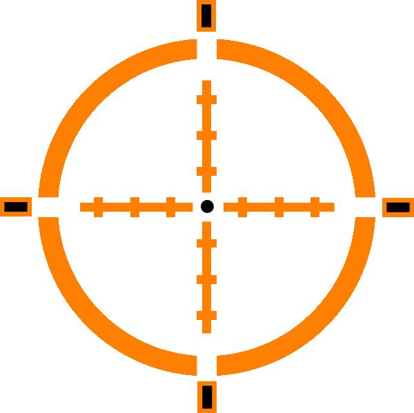 Clip art at clker. Dot clipart crosshair