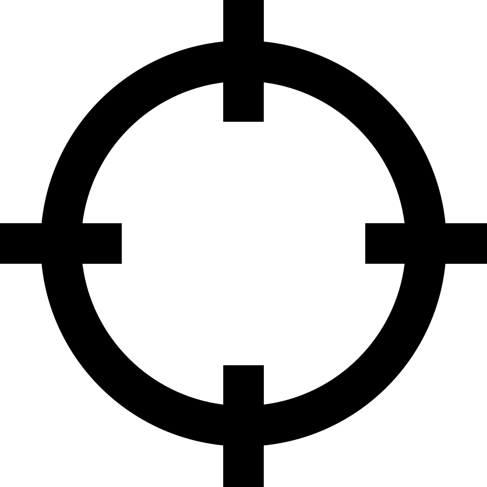 Svg png icon free. Dot clipart crosshair