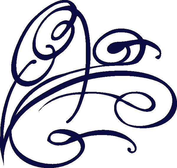 Dot clipart decorative. Blue swirl clip art