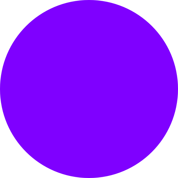 Dot group small clip. Number 3 clipart purple