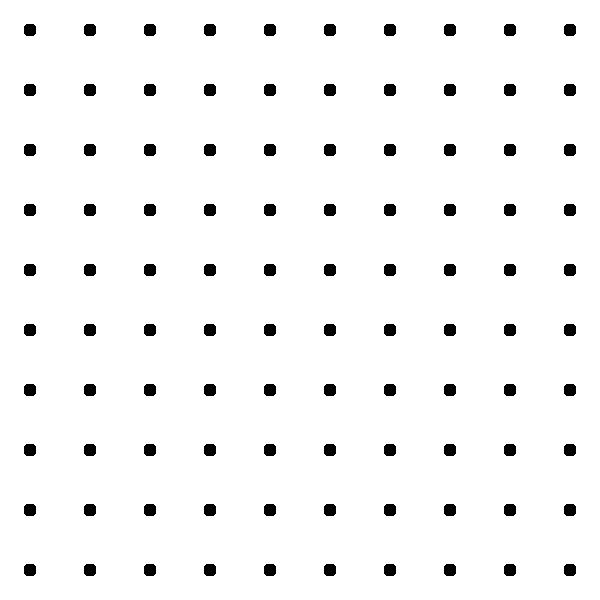 Dots square grid clip. Dot clipart dot pattern