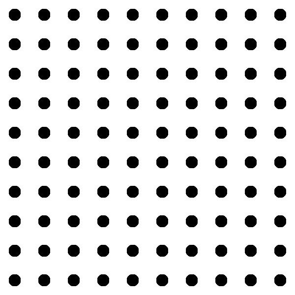 Dots Square Grid