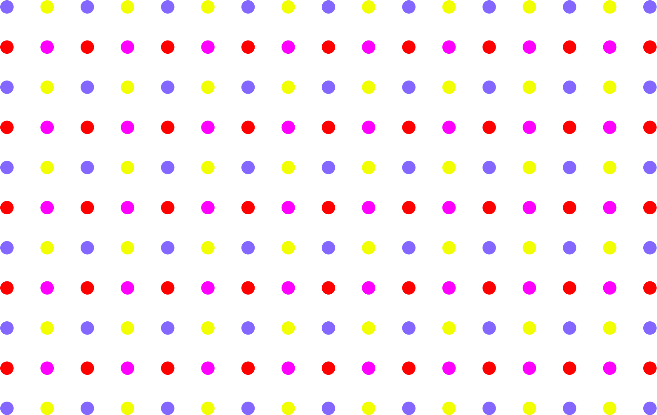 Seamless colorful sparse polka. Dot clipart dot pattern