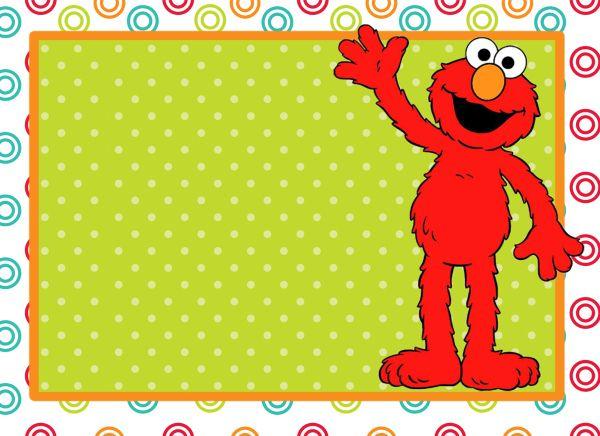 Free clip art birthday. Elmo clipart frame