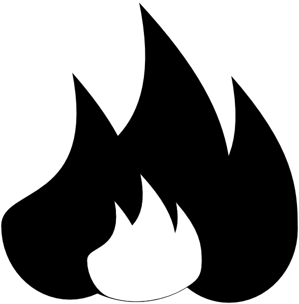 Symbol clip art at. Fire clipart fire pit