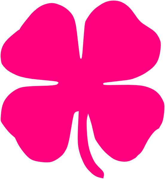 Pinkclover clip art at. Dot clipart four