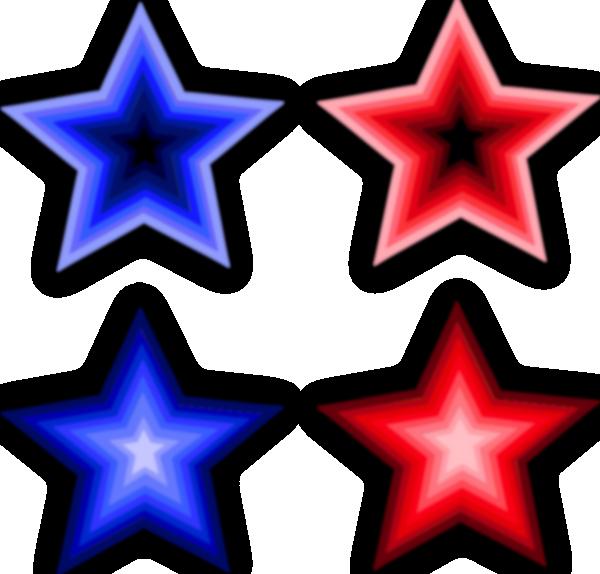 Stars clip art at. Dot clipart four