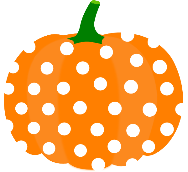 Dot clipart illustration. Pumpkin clip art at