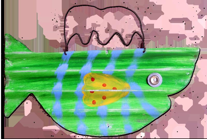 Dot clipart lime. Fish polka blackwater folk