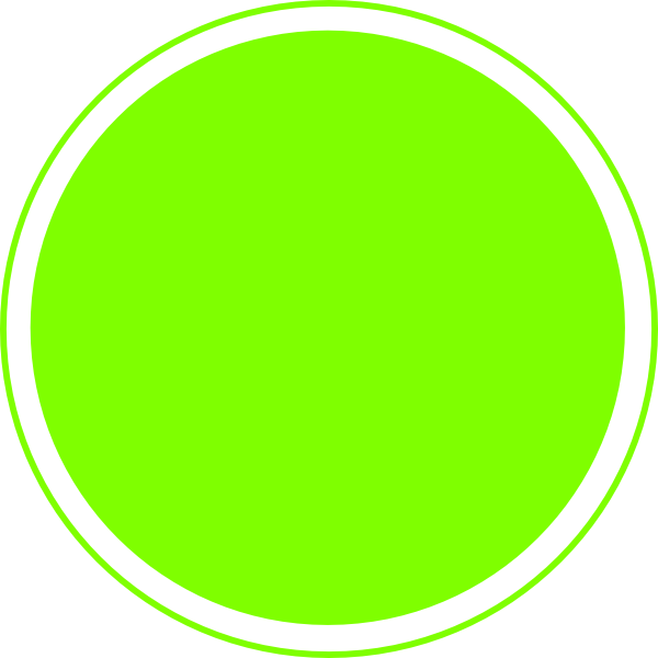 Dot clipart lime. Glossy green icon button
