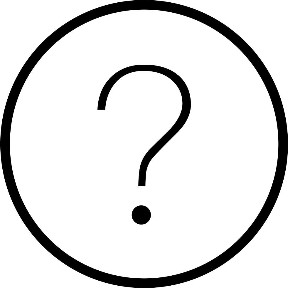 Dot clipart period mark. Question svg png icon