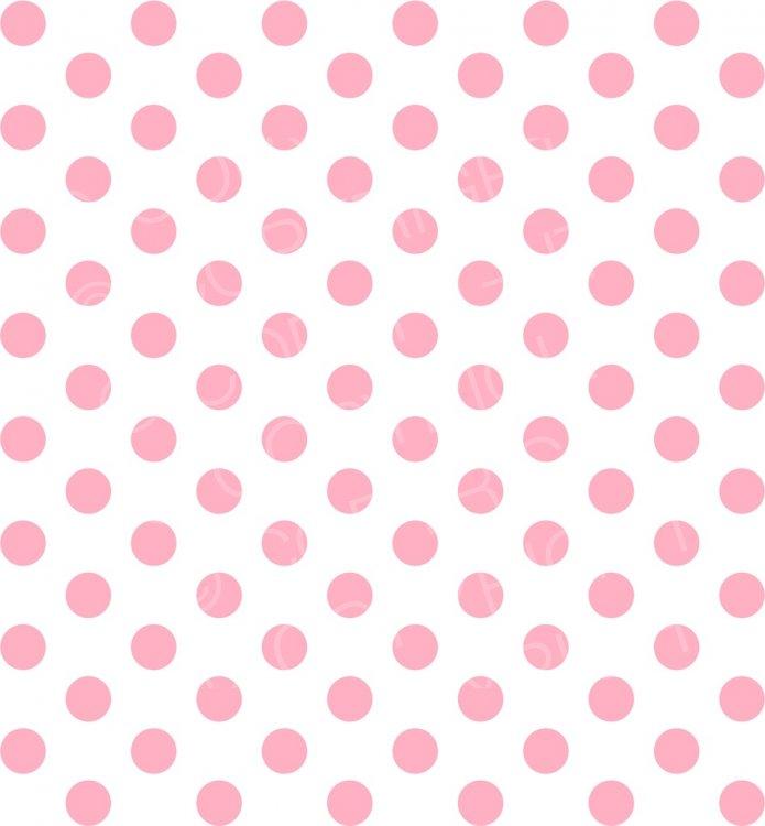 Pretty polka dots prawny. Dot clipart pink