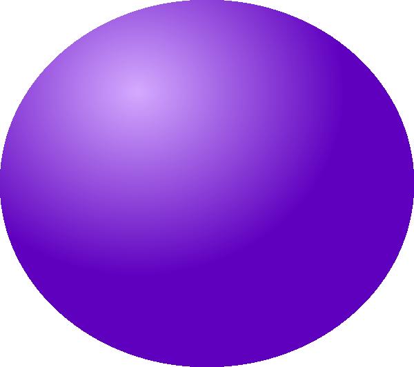Dot clipart purple. Spheres ball clip art