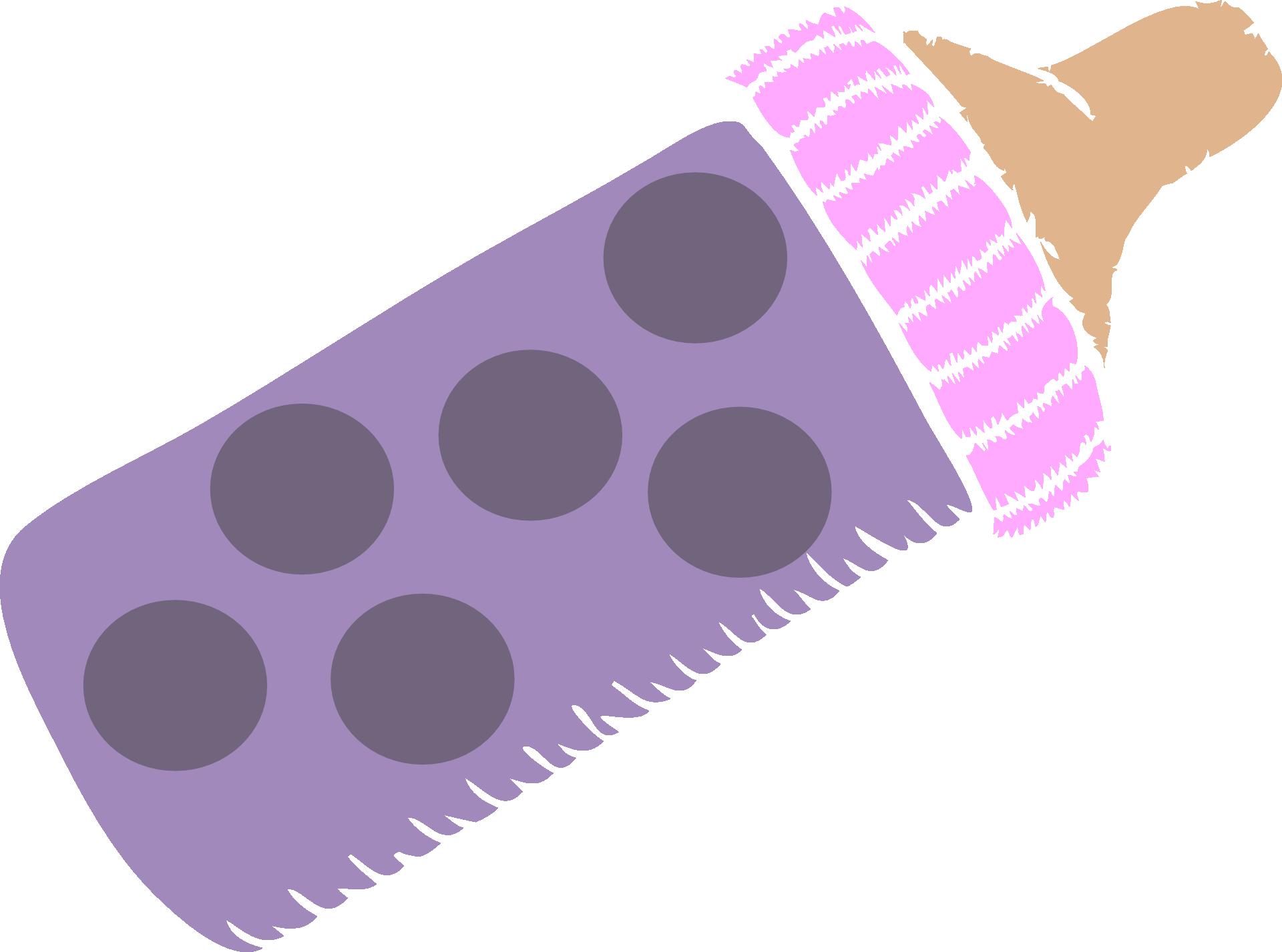 Dot clipart purple. Baby bottles infant pacifier