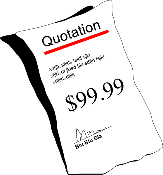 Dot clipart quote. Quotation clip art at