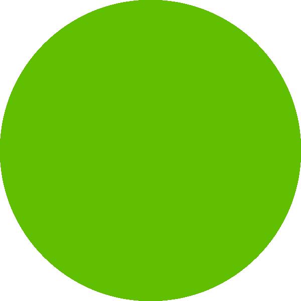 Green clip art at. Dot clipart small