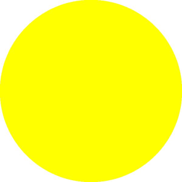 Yellow clip art at. Dot clipart small