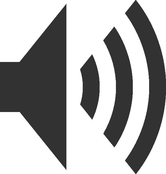 Simple clip art at. Dot clipart speaker