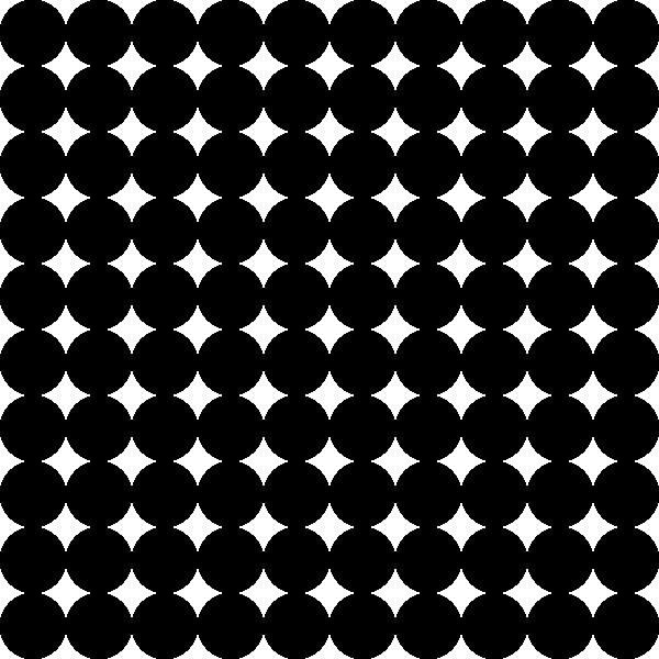 Dots grid pattern clip. Dot clipart square