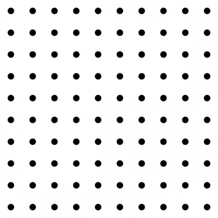 Dot clipart vector. Dots square grid pattern