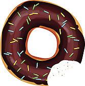 Donut clip art royalty. Doughnut clipart