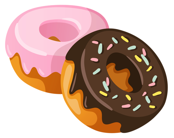 collection of donut. Doughnut clipart