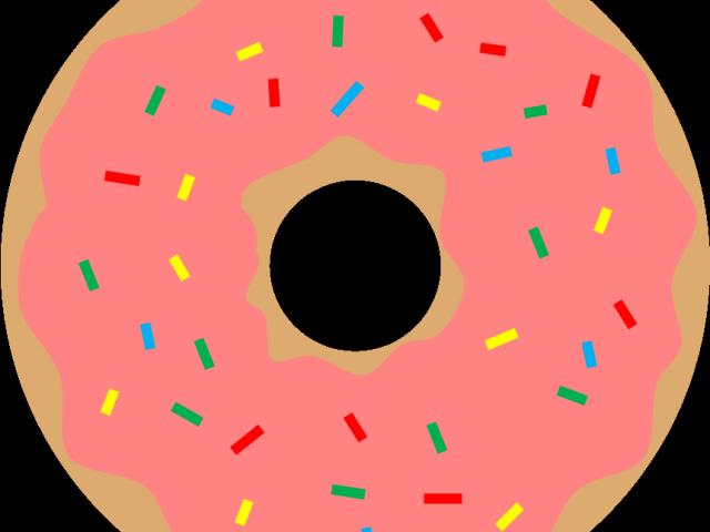 Free download clip art. Doughnut clipart bitten donut
