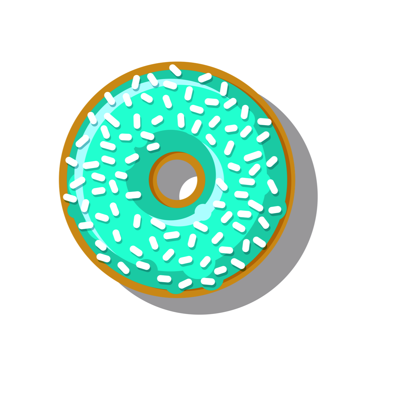 Doughnut clipart blue. Donuts food cafe pillow