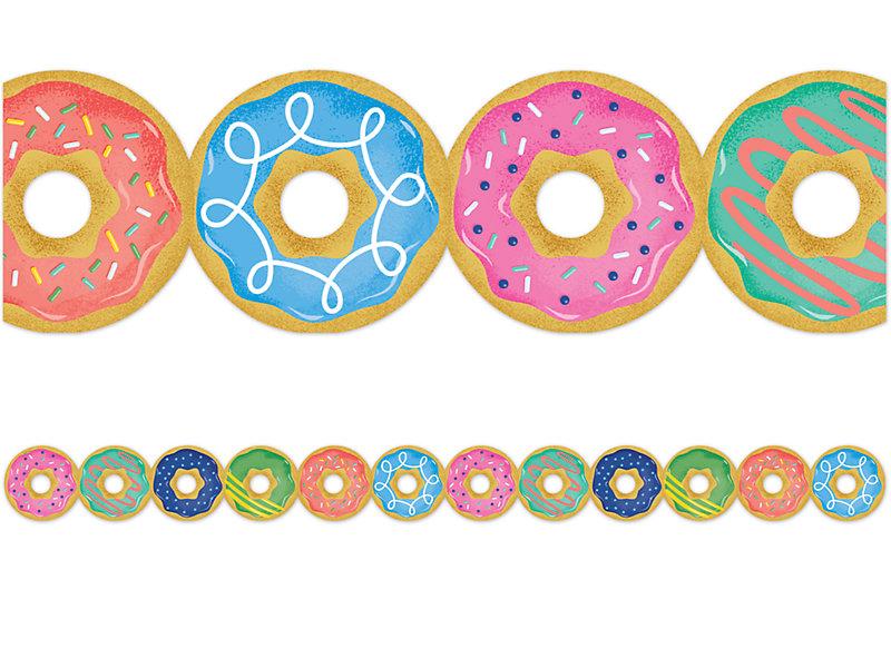 Donut portal . Doughnut clipart border