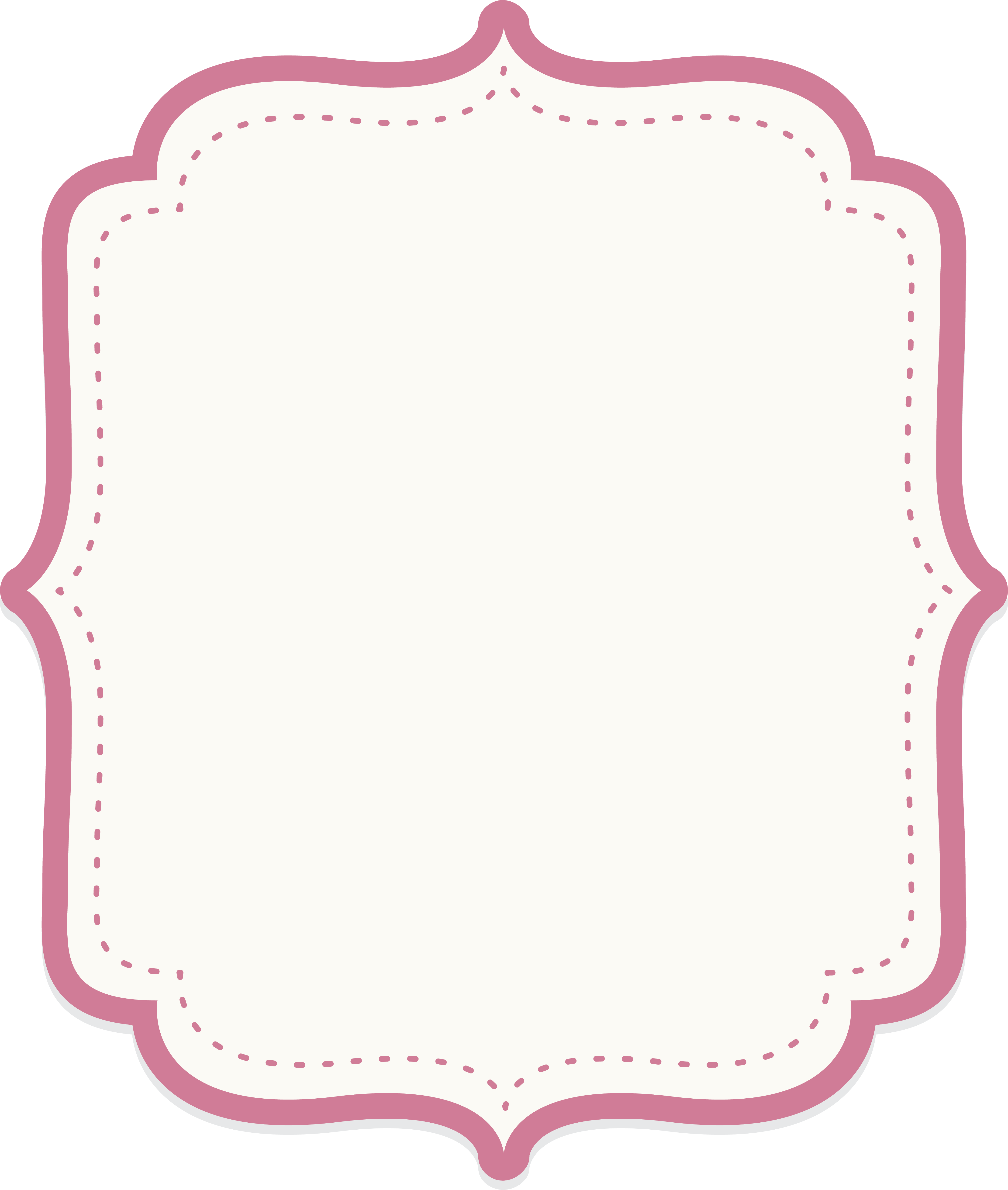 Text border png. Icon cute baby powder