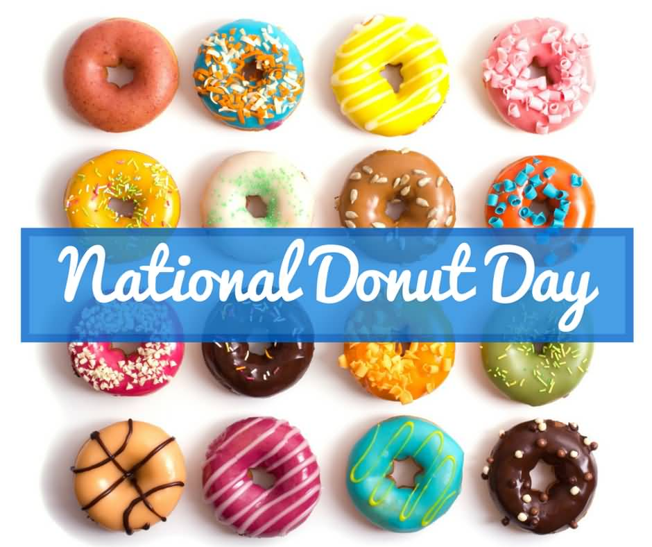Doughnut clipart donut day.  most beautiful national