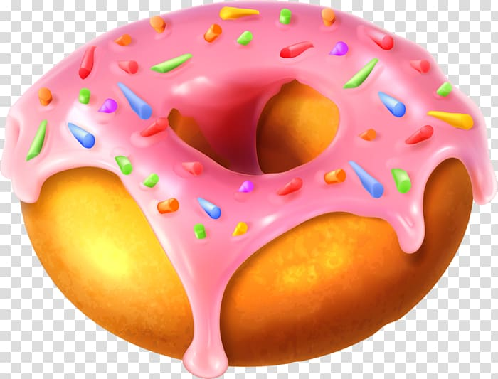 Donuts frosting crunch factory. Doughnut clipart donut icing