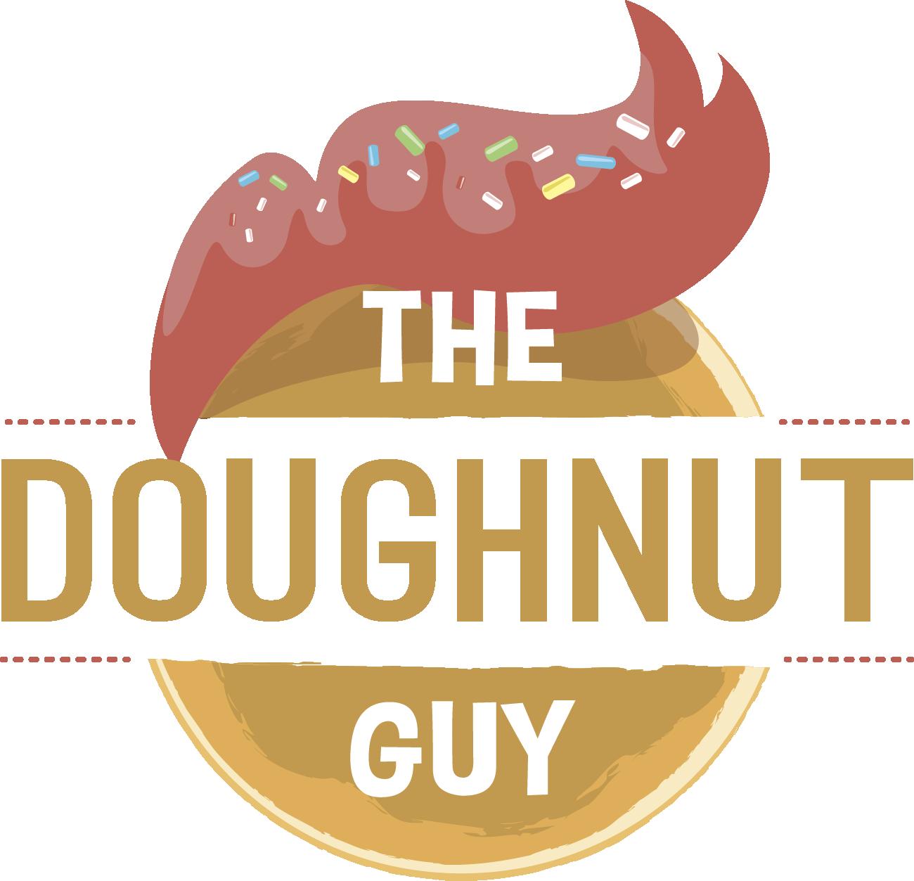 Doughnut clipart donut man. The guy
