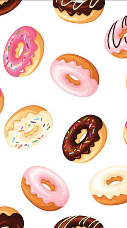 Doughnut clipart donut wallpaper. Wallpapers free by zedge