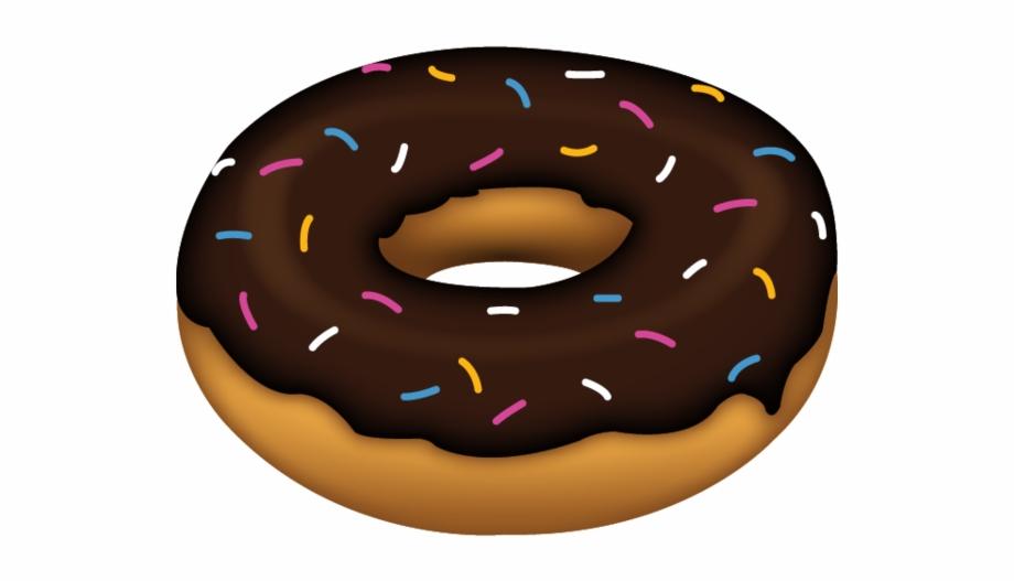 Doughnut clipart emoji. Png hd donut transparent